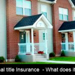 Sectional title Insurance  – What does it cover and who is responsible?