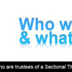 What and who are trustees of a Sectional Title Scheme?