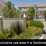 What is an exclusive use area in a Sectional Title Scheme?