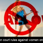 European Court rules against Women Only Insurance