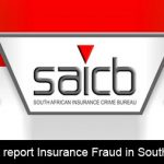 Where can we report insurance fraud in South Africa?