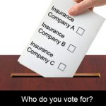 Will service delivery sway your insurance vote?