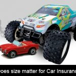 Does size matter for Car Insurance?