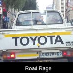Avoid confrontation and damage from the road rage idiots!!