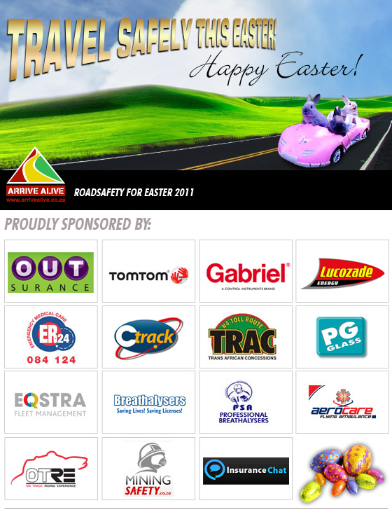 Road Safety for Easter 2011!!