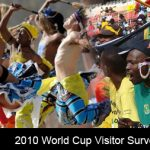 2010 World Cup Visitor Survey:  92% would recommend South Africa