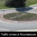 Do you know how to avoid the traffic circle and roundabout crash?