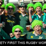 Crouch, touch, pause…and remember safety during World Cup gatherings!