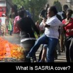What is SASRIA insurance and how does it help protect from riots?