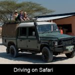 Protect yourself when on driving on safari Out-In Africa