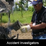 How do we know that the accident investigator knows his stuff?
