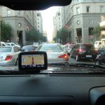 London traffic congestion and accident risk in congested traffic illustrated with real time traffic clip!