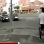 Amazing footage of fiery accident caught on video by bystanders