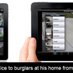 Australian man alerts police to burglars at his home from 8000km via his iPad