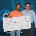 Charities Pocket Prize Money at Ctrack Annual Golf Day