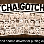 Should we name and shame drivers for putting our lives in danger?