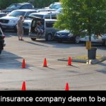 What does your insurance company deem to be secured parking?