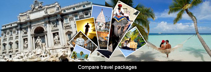 Aggregator and price comparison site can also compare travel packages