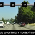 Can variable speed limits in South Africa work?