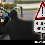 Significantly reduced hijackings but 16 a day in Gauteng still cause for grave concern!