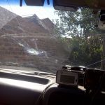 When will the chip in my windscreen make my car unroadworthy and driving illegal?