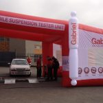 Gabriel and Actia Muller launches mobile mobile shock tester station