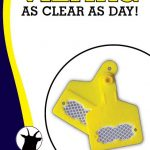 Reflective Animal Eartags may help to reduce road deaths caused by livestock crashes!