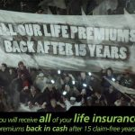 OUTsurance now gives ALL of your life insurance premiums back after 15 claim-free years!