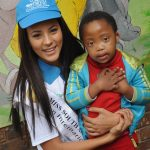 Miss SA Marilyn Ramos supports Casual Day and new beneficiaries