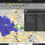 Companies can geo-spatially analyze Census data against their own customers and competitors