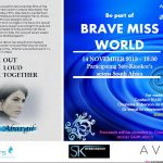 Première of Brave Miss World at Ster Kinekor's around South Africa