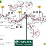 Nedbank Green Mile – the official spectator point on the 2014 Comrades Marathon