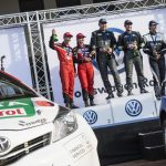 Fourth successive podium for Castrol Team Toyota