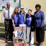 Casual Day delivers wheelchairs and stationery to one of Soweto's neediest schools