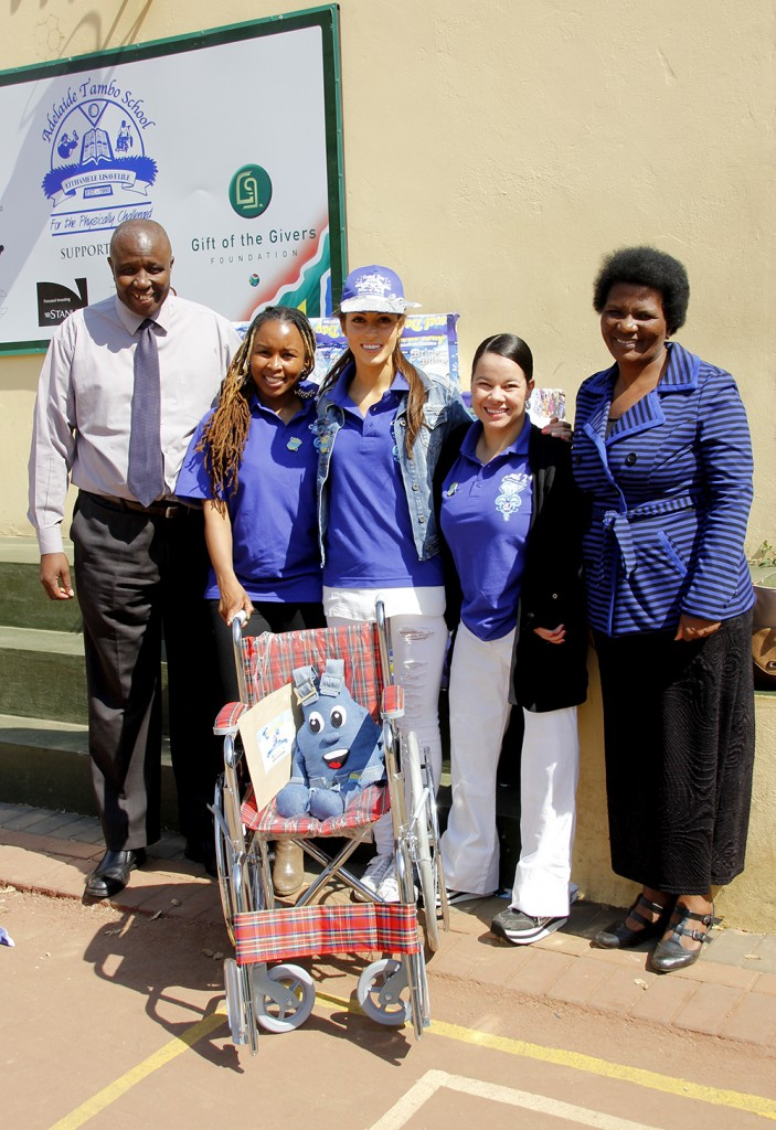 Casual Day visits Adelaide Tambo School