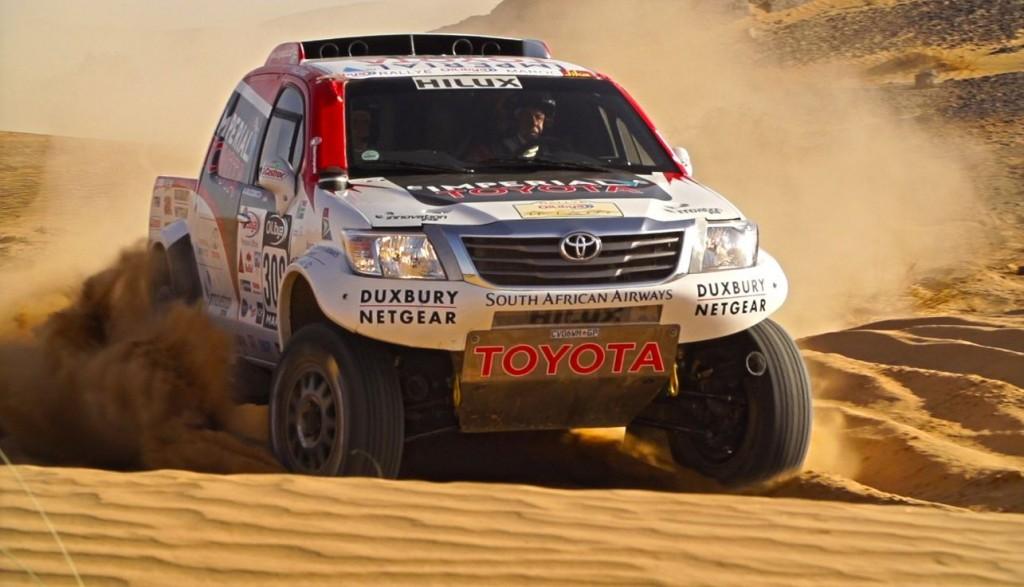 Morocco rally day 2