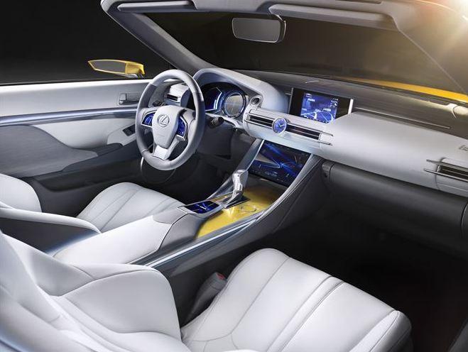 Lexus LF INSIDE