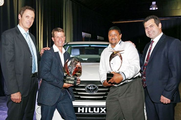New Harvest of the year vehicle handover