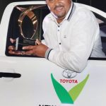 Trevor Abrahams wins 2014 Toyota New Harvest of the Year Award
