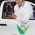 Trevor Abrahams wins 2014 Toyota New Harvest of the Year Award
