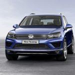 Volkswagen reveals new Touareg