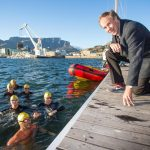 Effect of water temperature on swimmers' body temperature tested at V&A Waterfront