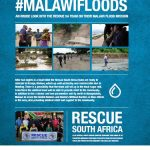 Team from Rescue SA renders assistance after flooding in Malawi