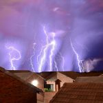 Advice on protecting people and property during lightning