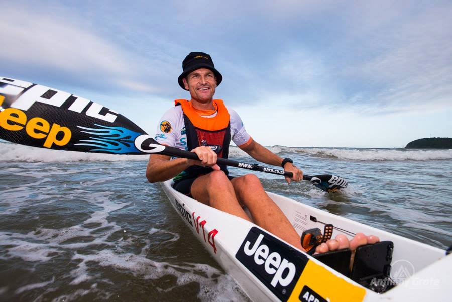 Hank McGregor - HiQ Surfski Challenge