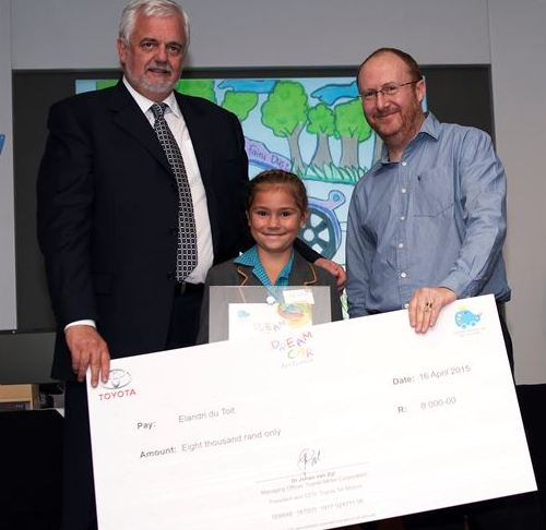 Winner under 8 category - Elandri du Toit