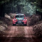 Safe Second place for defensing champion on Sasol Rally