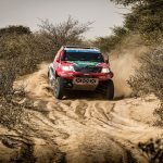 Castrol Team Toyota 1st and 2nd in Desert Race Prologue
