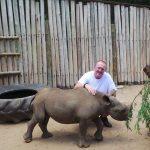 Black rhino Thor makes a speedy recovery