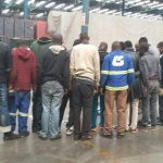 Police officers arrest 16 at warehouse in City Deep